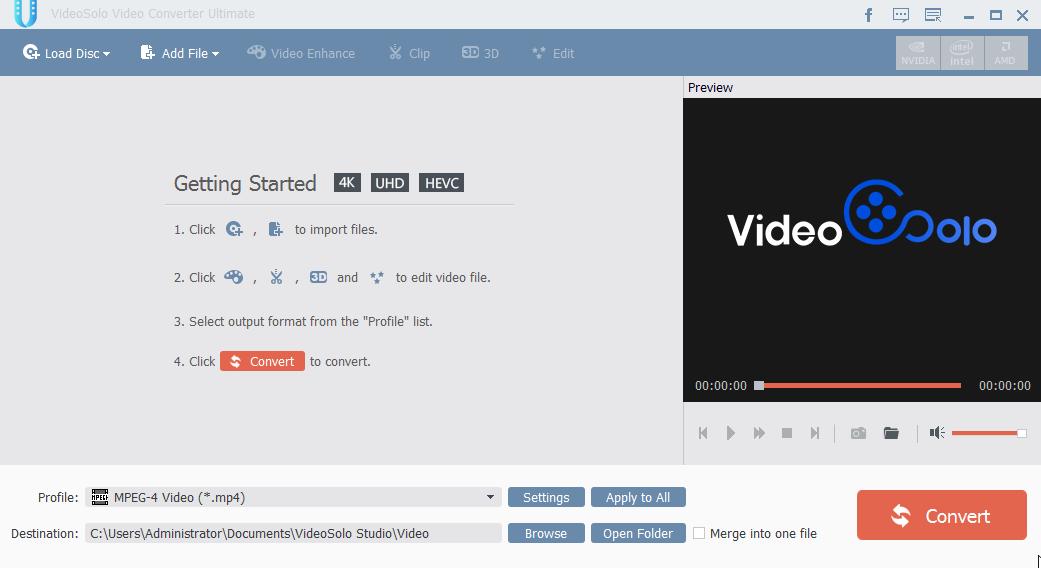 [PORTABLE] VideoSolo Video Converter Ultimate 1.0.32 Portable- ENG