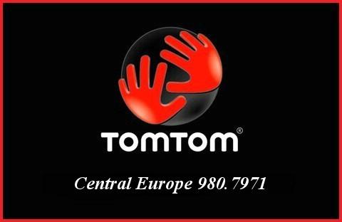 Tom Tom Central Europe 980.7971