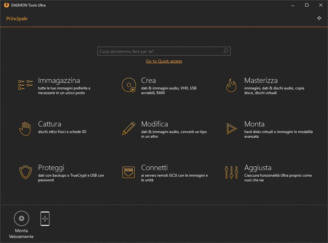 DAEMON Tools Ultra v5.51.1072 64 Bit - Ita
