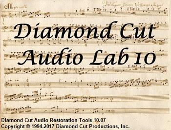 Diamond Cut Audio Restoration Tools v10.70 - Eng