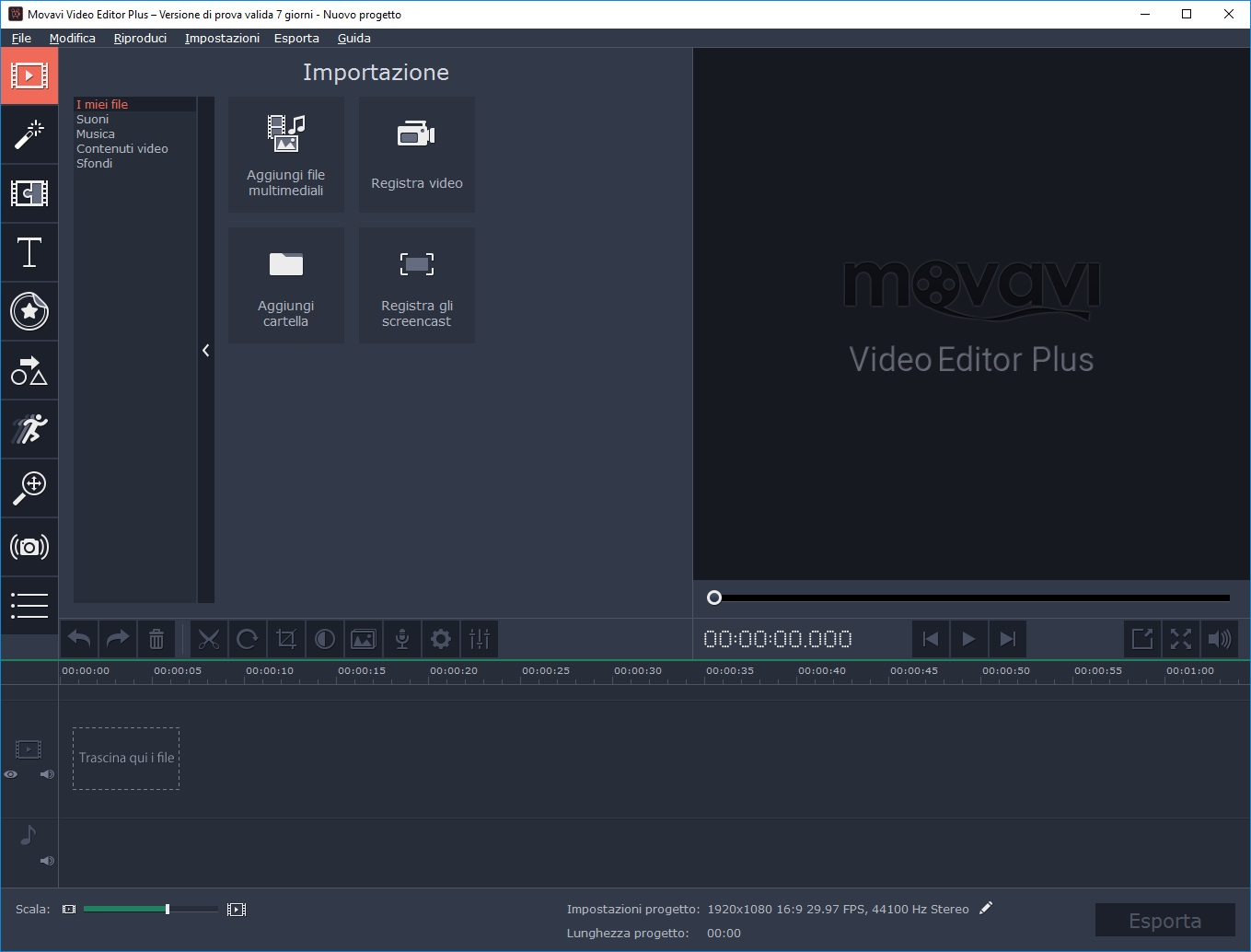 [MAC] Movavi Video Suite 2021 v21.0.1 macOS - ITA