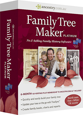 Family Tree Maker 2014 Platinum Edition - Eng