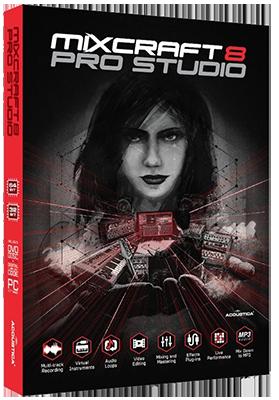 Acoustica Mixcraft Pro Studio 8.1 Build 412 - ITA