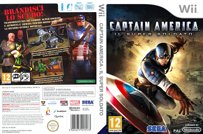 [WII] Captain America: Il Super Soldato (2011) - ITA