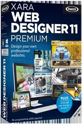 Xara Web Designer Premium v11.2.3.40788 - Ita