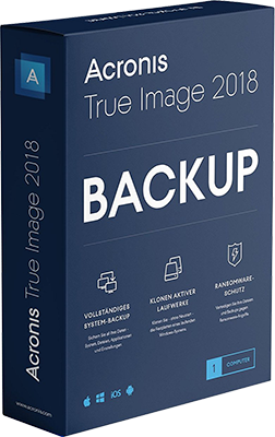 Acronis True Image 2018 Build 12510 WinPE - Ita