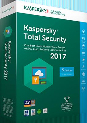Kaspersky Total Security 2017 v17.0.0.611.0.1651.0 - ITA