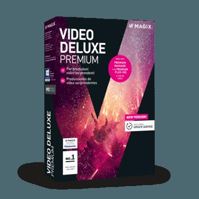 MAGIX Video Deluxe Premium 2018 v17.0.1.148 64 Bit - ITA