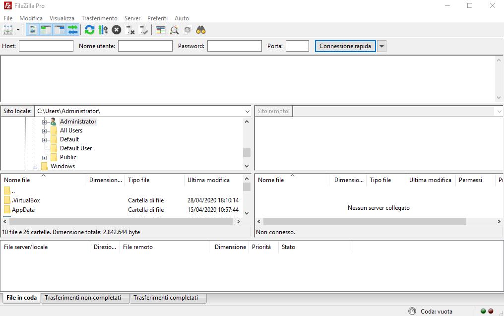 [PORTABLE] FileZilla Pro 3.48.1 Portable - ITA