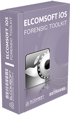 ElcomSoft iOS Forensic Toolkit v4.0 - Eng