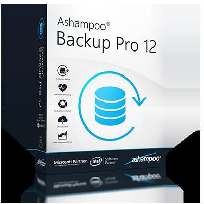 Ashampoo Backup Pro v12.08 64 Bit - ITA