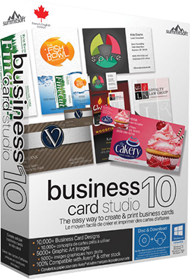 Summitsoft Business Card Studio Deluxe 10 v5.0.2 - Eng