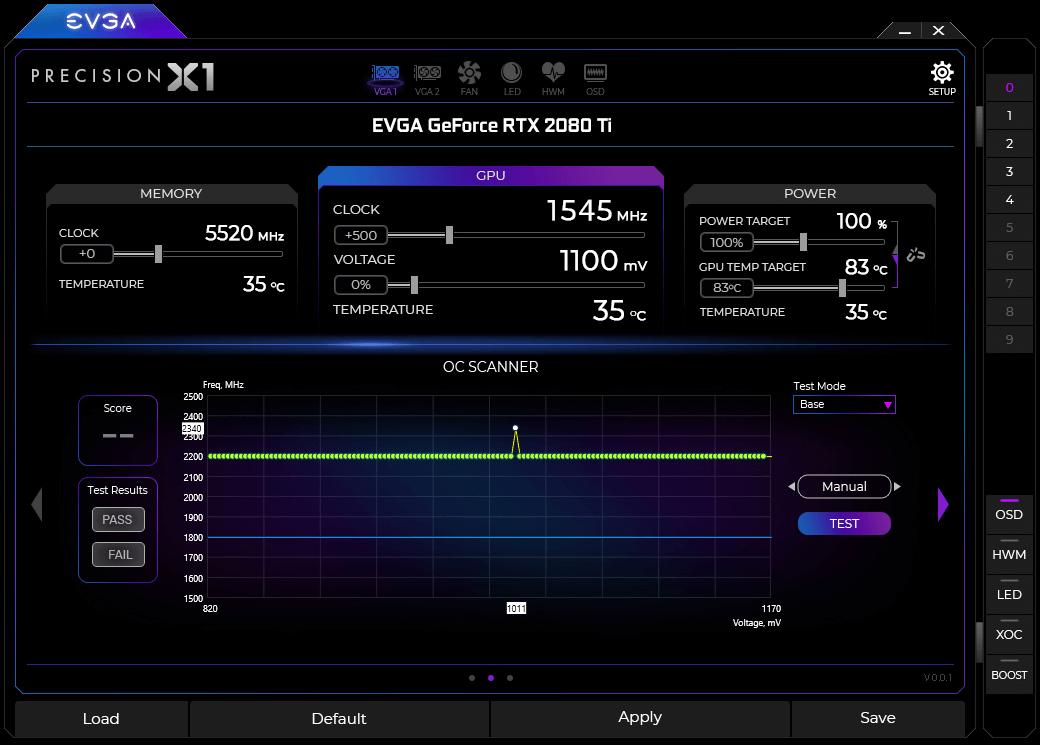 EVGA PrecisionX1 v1.0.1.0 - ENG