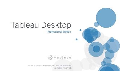 Tableau Desktop Professional Edition 2018.2.3 64 Bit - Eng