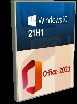 Microsoft Windows 10 Home 21H1 + Office 2021 Professional Plus - Settembre 2021 - ITA
