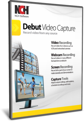 NCH Debut Video Capture Software Pro 7.48 - ITA