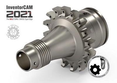 InventorCAM 2021 SP2 for Autodesk Inventor 2018-2021 x64 - ITA