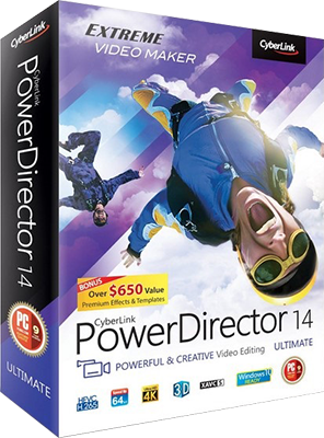CyberLink PowerDirector Ultimate v14.0.2820.0 + Content Pack - Ita