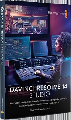 Blackmagic Design DaVinci Resolve Studio v14.3.1 64 Bit - Eng