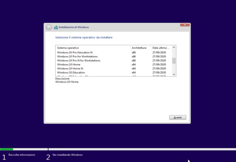 Microsoft Windows 10 20H2 AIO (24 Edizioni in 1 ISO) - Febbraio 2021 - ITA