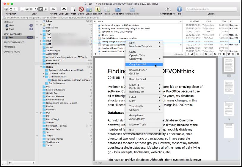 [MAC] DEVONthink Pro / Server 3.0.3 macOS - ENG