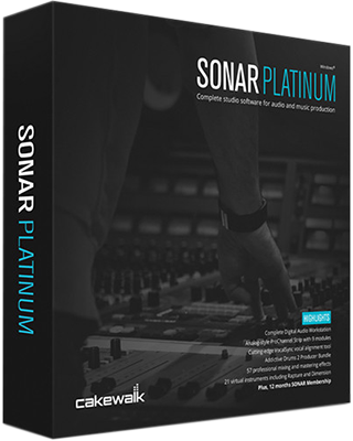 Cakewalk SONAR Platinum UP10 v21.13.0.32 + Content Pack - Ita