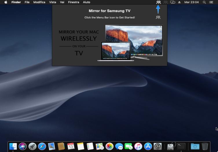 [MAC] Mirror for Samsung TV 3.4 macOS - ENG