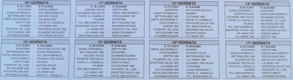 Calendario Eccellenza Girone B.Eccellenza Gironi A E B 2019 2020 Ecco I Calendari
