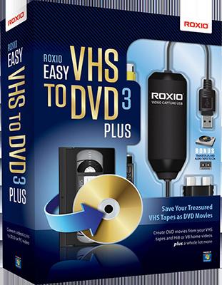 Roxio Easy VHS to DVD 3 Plus v3.0.1.36 - ITA