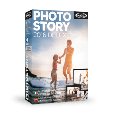 Magix Photostory 2016 Deluxe v15.0.2.108 64 Bit + Content Pack - Ita