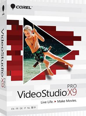 Corel VideoStudio Pro X9 v19.3.0.19 + Content Pack - Ita