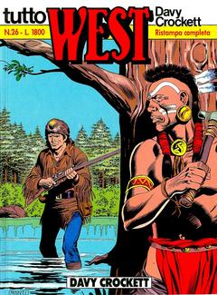 Tutto West n. 26 - Davy Crockett (1989)