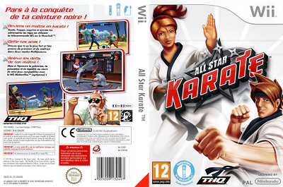 [WII] All Star Karate (2010) - ENG