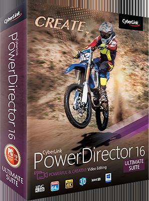 CyberLink PowerDirector Ultimate Suite v16.0.2420.0 - Ita