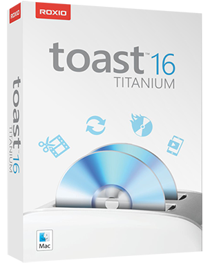 Roxio Toast Titanium v16.0 Build 4745 DOWNLOAD MAC ITA