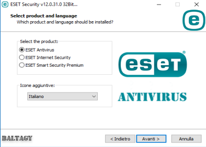 ESET Security v12.0.31.0 All-In-One - ITA