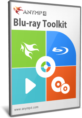 [PORTABLE] AnyMP4 Blu-ray Toolkit 6.1.30 Portable - ENG
