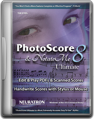 [MAC] Neuratron PhotoScore & NotateMe Ultimate 2018.7 v8.8.7 - Eng