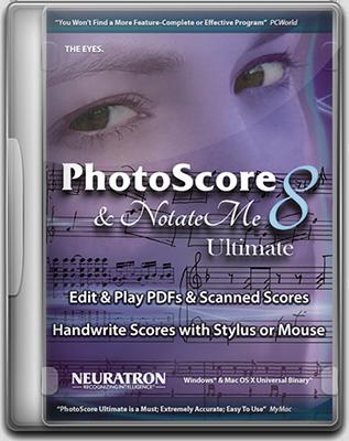 [MAC] Neuratron PhotoScore & NotateMe Ultimate 2018.7 v8.8.7 - Eng