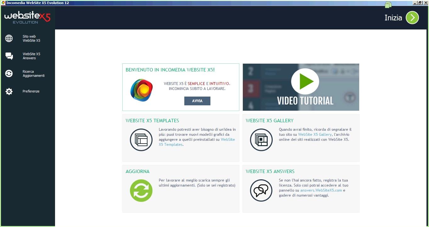 Incomedia WebSite X5 Evolution v12.0.5.22 - Ita