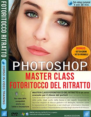 GDF Photoshop N.102 Videocorso Master Class Fotoritocco del Ritratto DOWNLOAD ITA