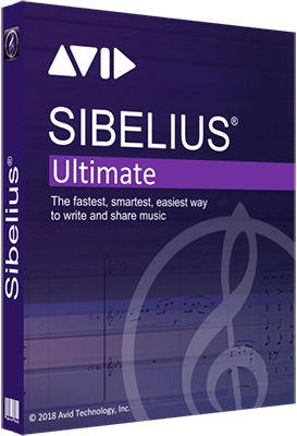 Avid Sibelius Ultimate 2018.11 Build 864 64 Bit - ITA