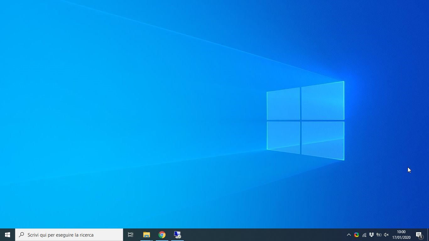 Microsoft Windows 10 Pro N Edition v1909 - Gennaio 2020 - ITA