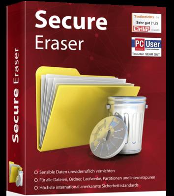 Secure Eraser Professional Edition v5.101 - ITA