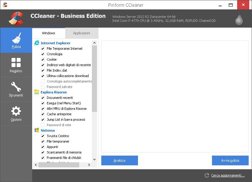 CCleaner All Editions v5.72.7994 AIO (Preattivato + Portable) - ITA