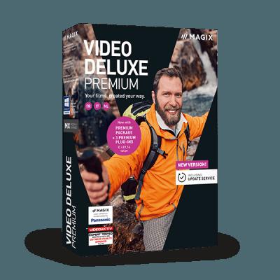 MAGIX Video deluxe Premium 2019 v18.0.1.203 64 Bit - Ita