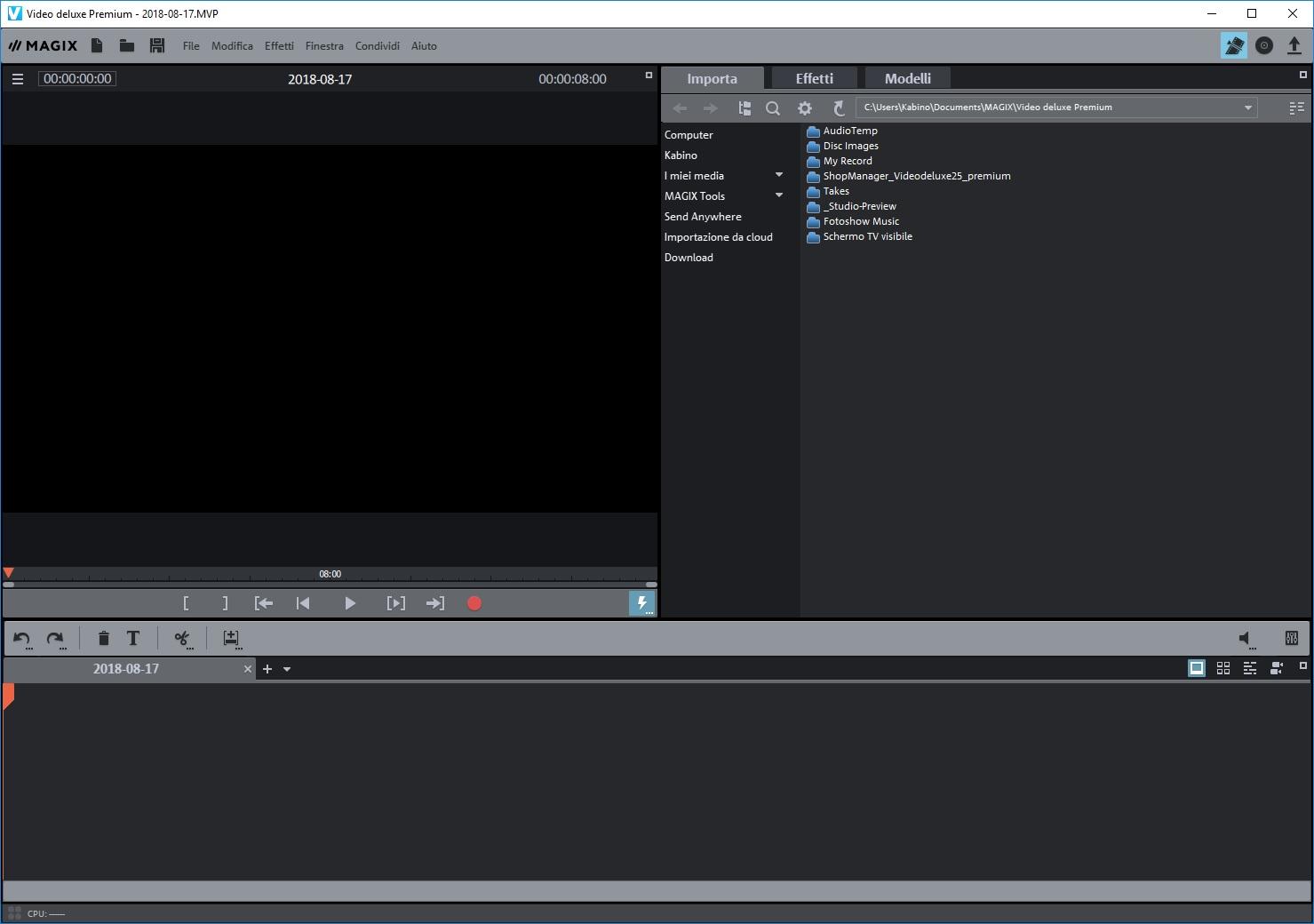 MAGIX Video deluxe Premium 2020 v19.0.2.58 64 Bit - ITA