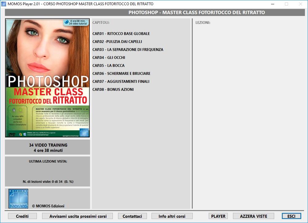 GDF Photoshop N.102 - Videocorso Master Class Fotoritocco del Ritratto - ITA
