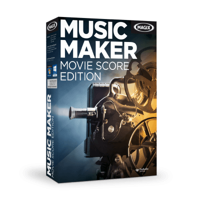 MAGIX Music Movie Maker Score Edition v21.0.4.50 + Content Pack - Ita