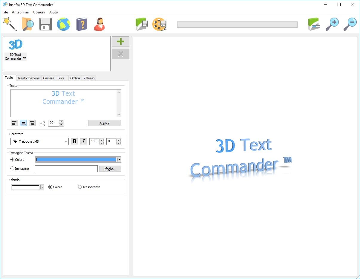 Insofta 3D Text Commander v5.7.0 - ITA